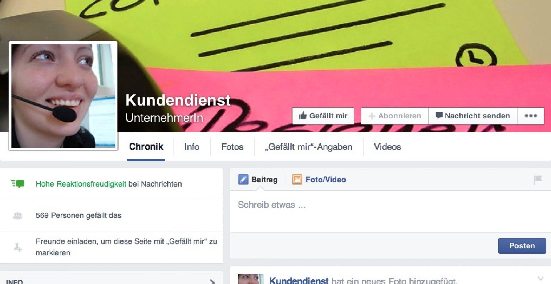 Ein Fake-Kundendienst treibt Kunden auf Facebook zur Weißglut – das Ergebnis ist überragend