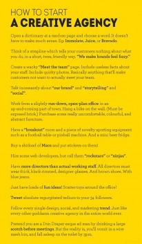 Wie man eine Kreativagentur startet: Die idiotensichere ...