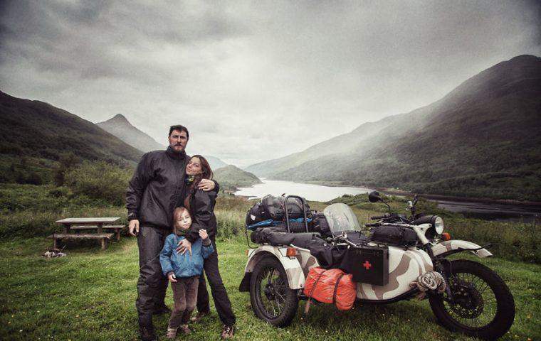 Sie wollten ihrem Sohn die Welt zeigen – also machten sie den Roadtrip ihres Lebens