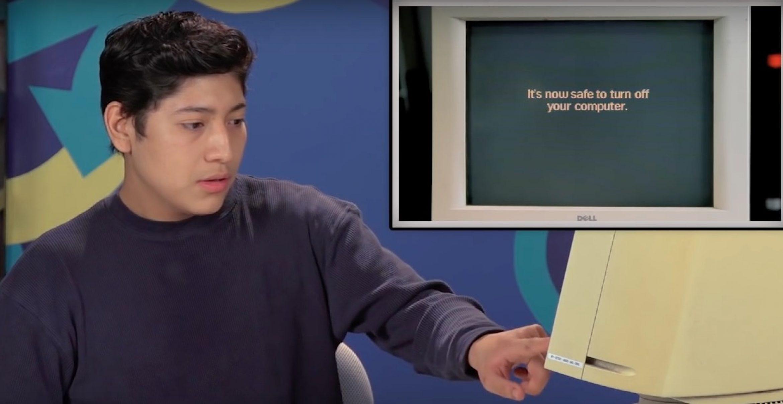 Digital Natives: Wie reagieren Teenager auf Windows 95?