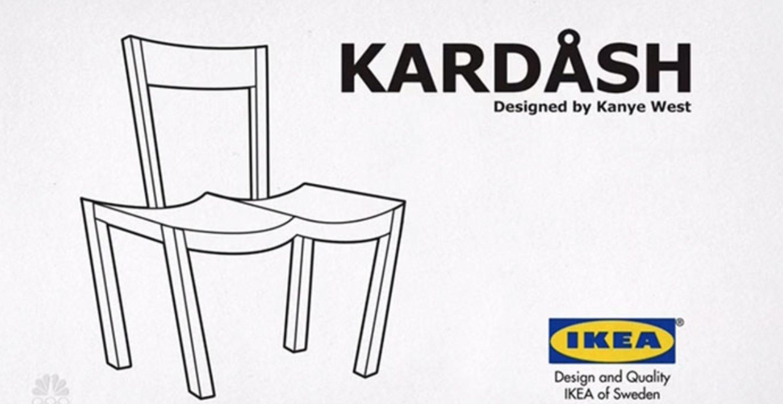 Viral: Internet trollt Kanye West mit skurrilem IKEA-Produktdesign