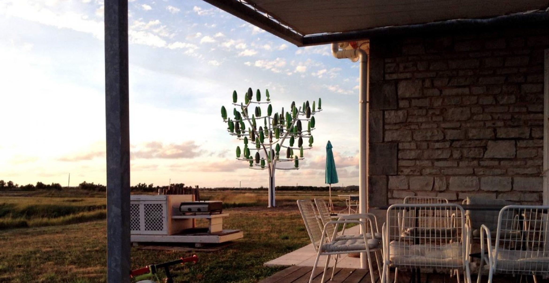 Next big thing? Dieser Windbaum könnte die eigene, private Windkraftanlage werden