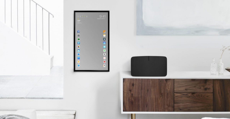 """""""Apple Mirror"""": Dieser Spiegel funktioniert wie ein übergroßes iPad"""
