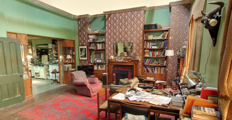 """Virtueller Rundgang: Die """"Sherlock""""-Wohnung gibt es jetzt als 360-Grad-Fotos"""