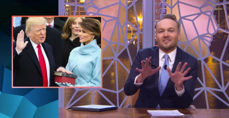 Beste Satire: Niederländische Show schlägt neuen US-Präsidenten mit seinen eigenen Waffen