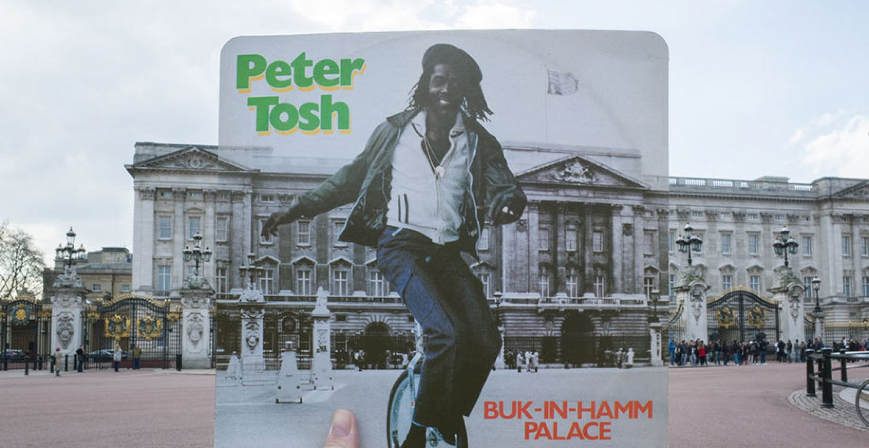 Sightseeing mal anders: Mit Vinyl-Covern auf Entdeckungsreise durch London