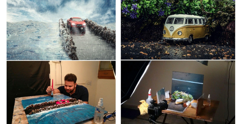 Low Budget – Big Impact: Dieser Künstler ist ein Meister der Miniatur-Fotografie