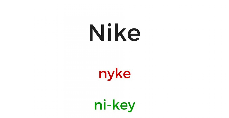 Kannst du diese Markennamen alle korrekt aussprechen?