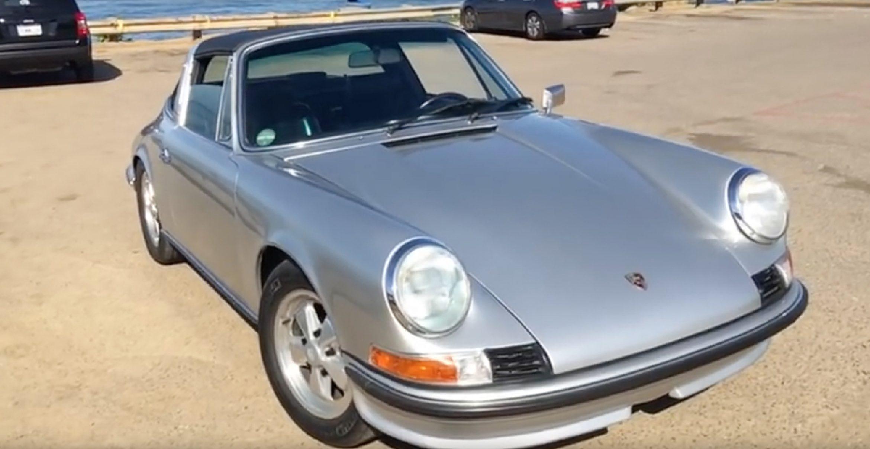 Kalifornische Tuner bauen Elektromotor in legendären '73er Porsche 911