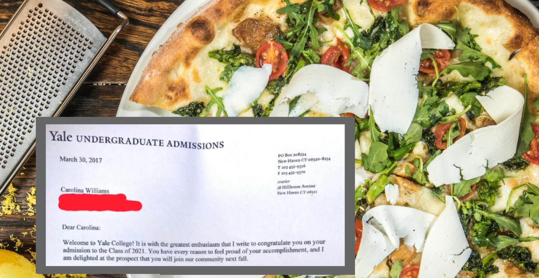 Schülerin bewirbt sich mit einem Essay über Pizza an einer Elite-Uni – und wird angenommen