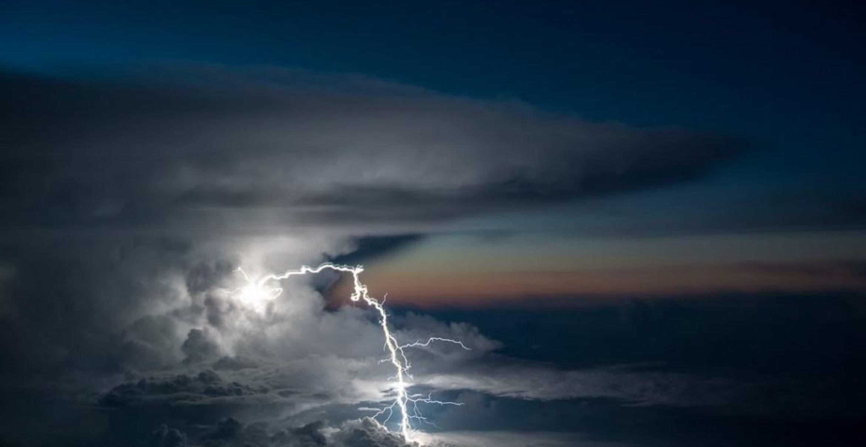 Dieser Pilot fotografiert beeindruckende Naturphänomene aus dem Cockpit