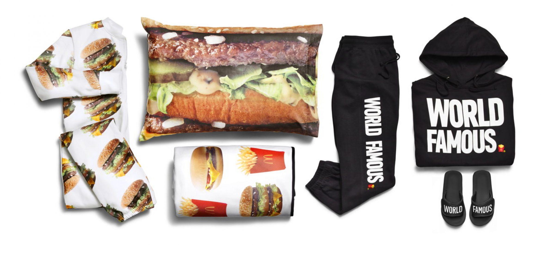 Heiße Teile: McDonalds launcht Fast Food Fashion-Kollektion
