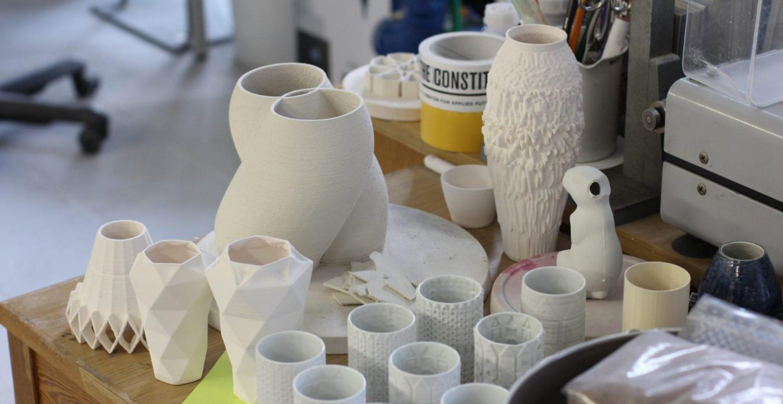 Porzellan aus dem Drucker: Tradition trifft Disruption