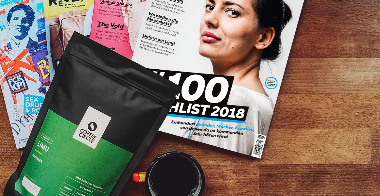 "Work Hard. Brew Hard: Unsere exclusive ""Coffee Circle x Business Punk""-Genießer-Box"