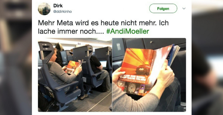 Meta to the Max: Andy Möller liest Andy Möller
