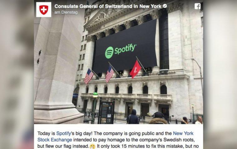 Spotify: Wie sich ein peinlicher Fehler im Netz verselbstständigt