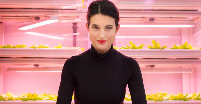 Vertical Farming Restaurant: Diese junge Gründerin mischt die Gastro-Szene auf