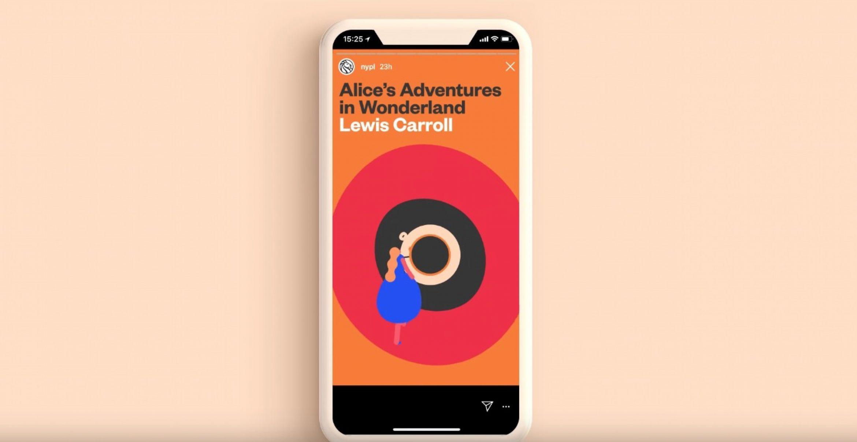 New York Public Library digitalisiert Bücher als Instagram-Stories