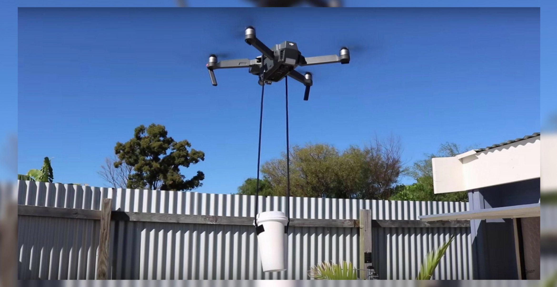 Mittagstief? Diese Drohne könnte euch im Office bald mit Kaffee beglücken