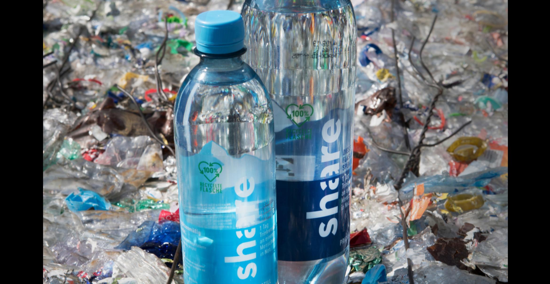 Berliner Startup launcht erste Wasserflasche aus recyceltem Plastikmüll