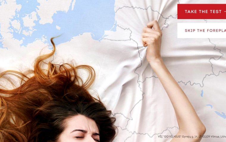 Stadtmarketing à la Tinder: Vilnius ist der G-Punkt Europas