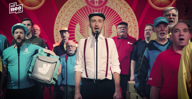 Kritik: Böhmermann teilt mit Lied gegen Lieferdienste aus