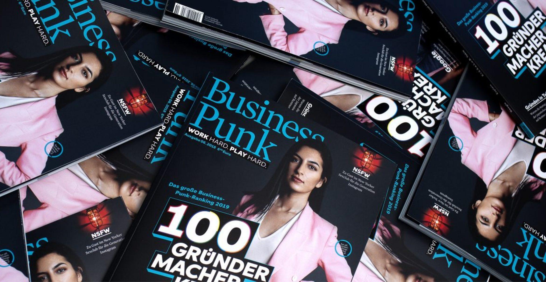 #BusinessPunk100: Die neue Business-Punk-Ausgabe ist da!
