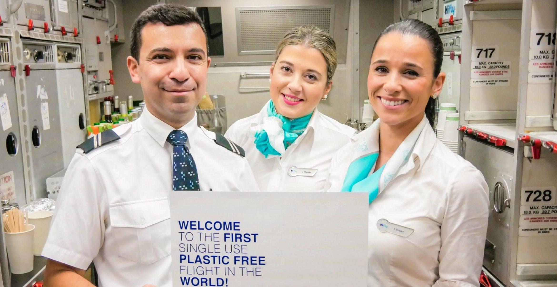 Portugiesische Fluglinie schickt ersten plastikfreien Flieger in die Luft