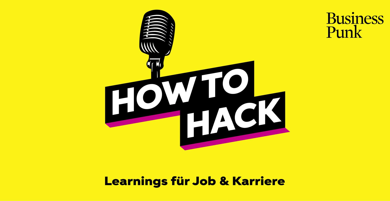 How to Hack #13: Cloudy Zakrocki über Work-Life-Balance