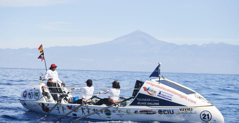Für einen guten Zweck: Vier Hamburgerinnen wollen über den Atlantik rudern