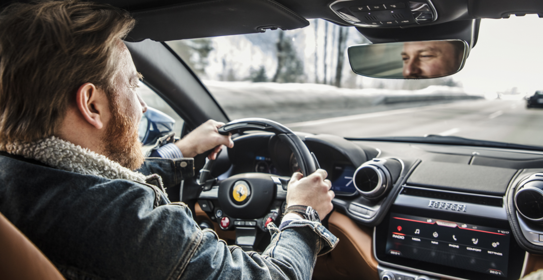 DIY: Driften im Ferrari – der Selbstversuch