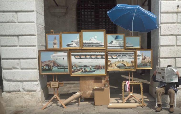 Venedig ist voller Kunstexperten und keiner erkennt Banksy