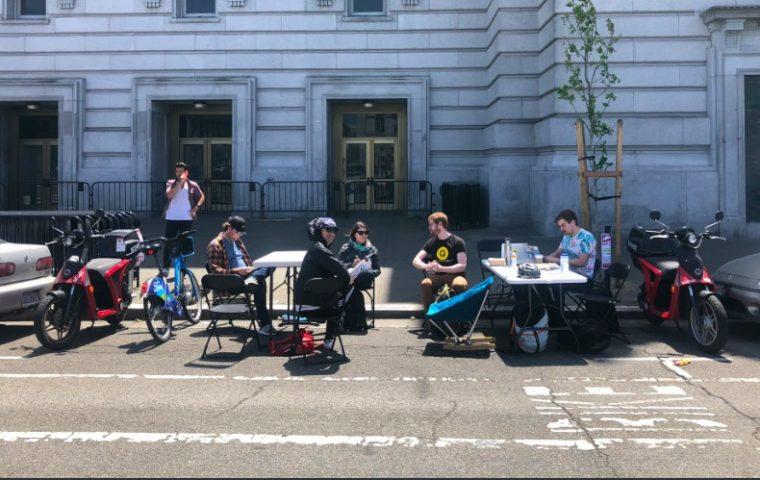 Mietwahnsinn in San Francisco: Wenn Parkplätze zu Arbeitsplätzen werden