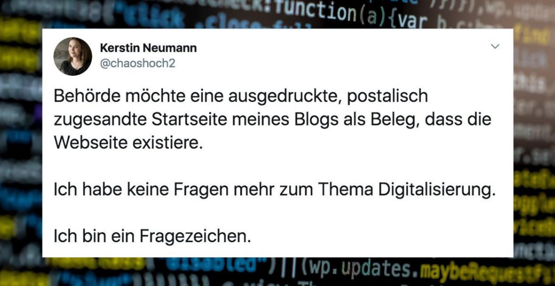 """Diese Tweets zeigen: Das """"D"""" in Deutschland steht nicht für digital"""