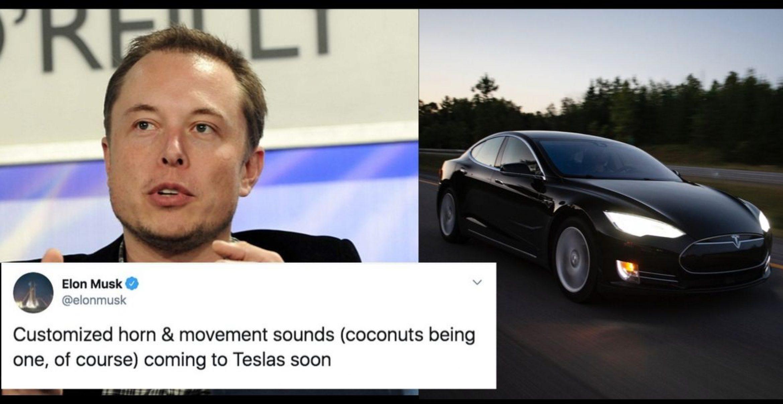 Elon Musk will Furz- und klappernde Hufgeräusche für Teslas