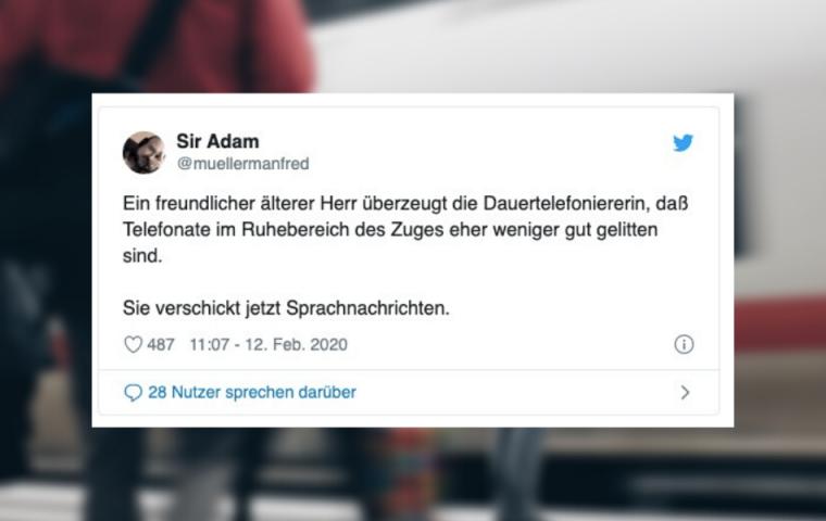 Life of Pendler*innen – die zehn schrägsten Tweets aus der Bahn