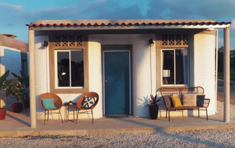 In Mexiko baut ein Startup Häuser aus dem 3D-Drucker, um den Armen zu helfen