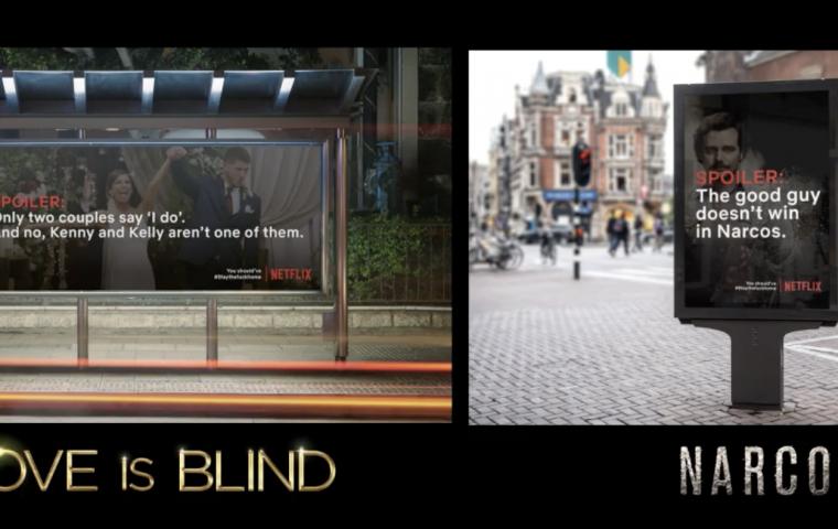 Spoiler-Alert: Diese Billboards sollen Menschen dazu bringen, Zuhause zu bleiben