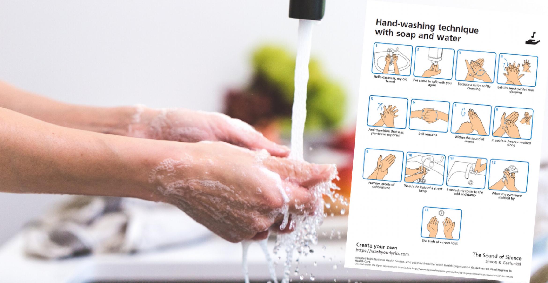 Zehn Songtexte, mit denen ihr eure Hände nie wieder zu kurz wascht