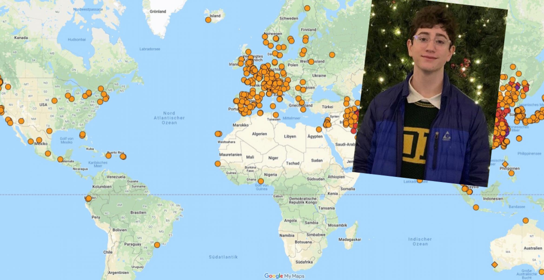 17-Jähriger baut Info-Website zum Coronavirus und erreicht Millionenpublikum