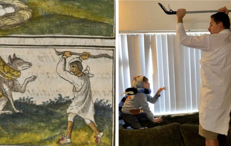 Gegen die Langeweile: Museum fordert zum Nachbauen von Kunstwerken heraus