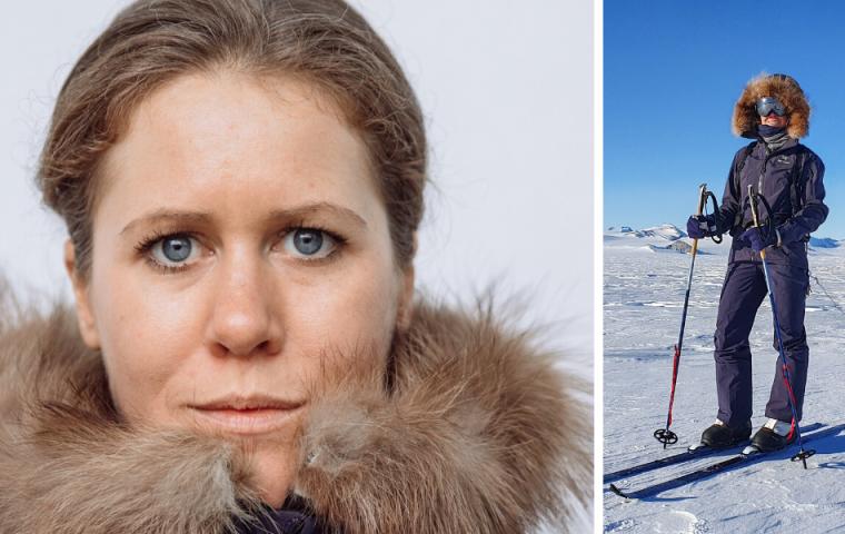 Wie man sich fühlt, wenn man nach 57 Tagen auf Skiern den Südpol erreicht