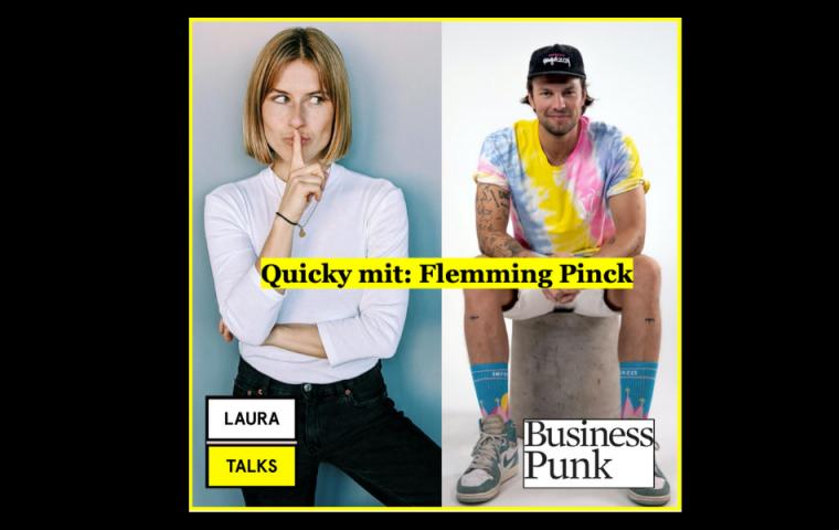 """""""Laura Talks"""": Laura Lewandowski im Interview mit Inferno Raggazi CEO Flemming Pinck"""