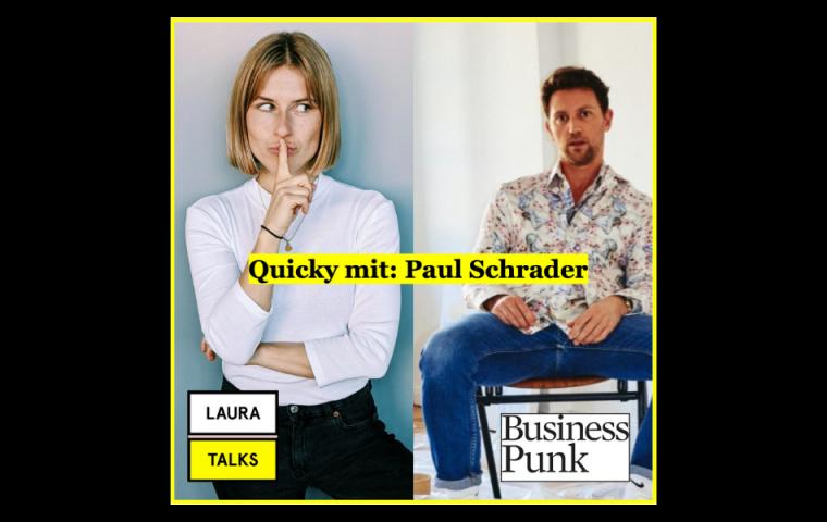 """""""Laura Talks"""": Laura Lewandowski im Interview mit Künstler Paul Schrader"""