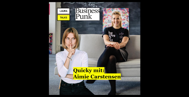 """""""Laura Talks"""": Laura Lewandowski im Interview mit ArtNight-CEO Aimie-Sarah Carstensen"""
