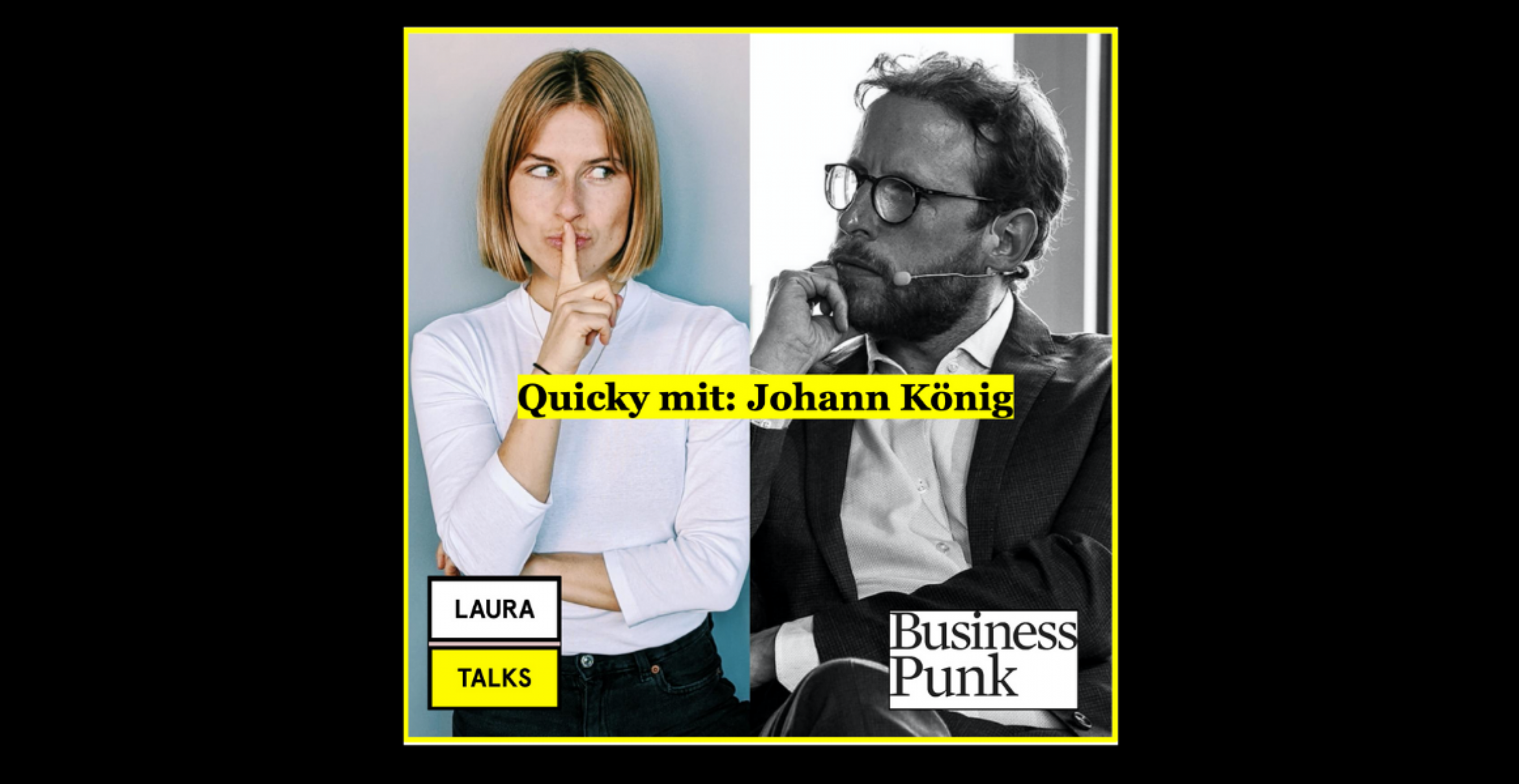"""Laura Talks"": Laura Lewandowski im Interview mit Galerist Johann König"