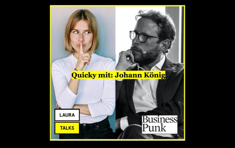 """Laura Talks"": Laura Lewandowski im Interview mit Galerist Johann König"