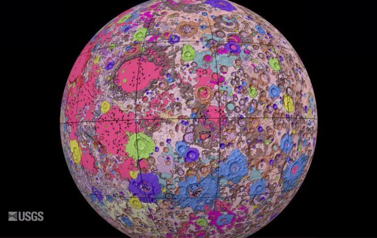 Erste vollständige Landkarte vom Mond zeigt, wie vielfältig seine Oberfläche ist