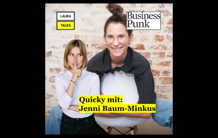 """Laura Talks"": Laura Lewandowski im Interview mit Gitti-Gründerin Jennifer Baum-Minkus"