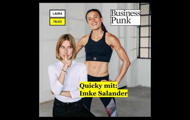 """""""Laura Talks"""": Laura Lewandowski im Interview mit Sportlerin und Fitness-Influencerin Imke Salander"""